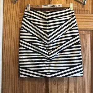 Cute striped skirt from Express.